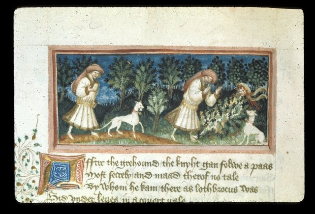 Lothbrok's dog from BL Harley 2278, f. 45v