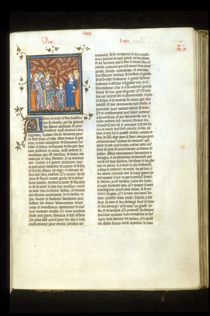 Louis d'Outremer from BL Royal 16 G VI, f. 252