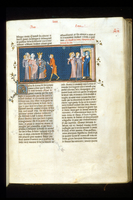 Louis IV from BL Royal 16 G VI, f. 253