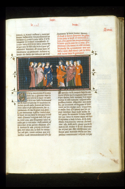 Louis le Begue from BL Royal 16 G VI, f. 240