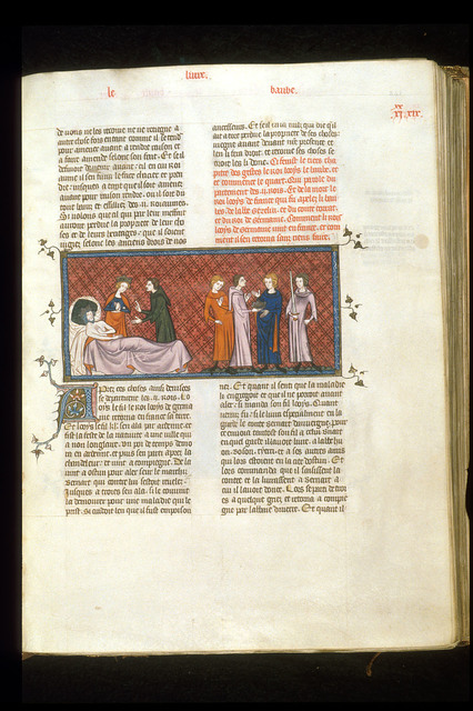 Louis le Begue from BL Royal 16 G VI, f. 241