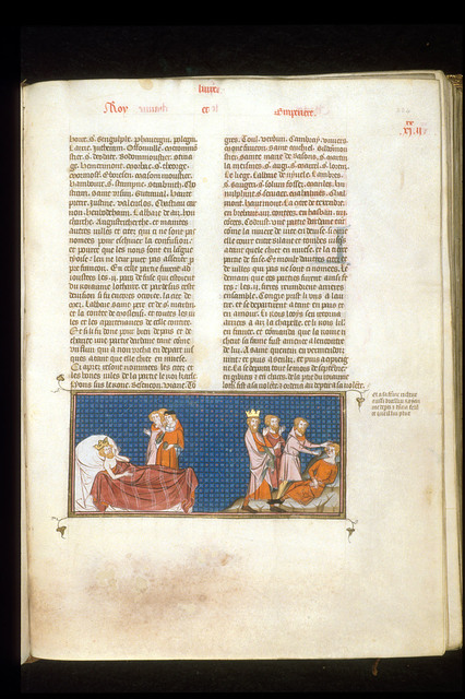 Louis le Germanique from BL Royal 16 G VI, f. 224