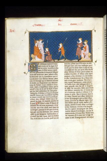 Louis le Germanique from BL Royal 16 G VI, f. 227v