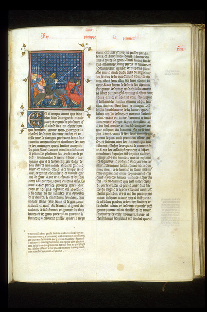Louis le Gros from BL Royal 16 G VI, f. 282