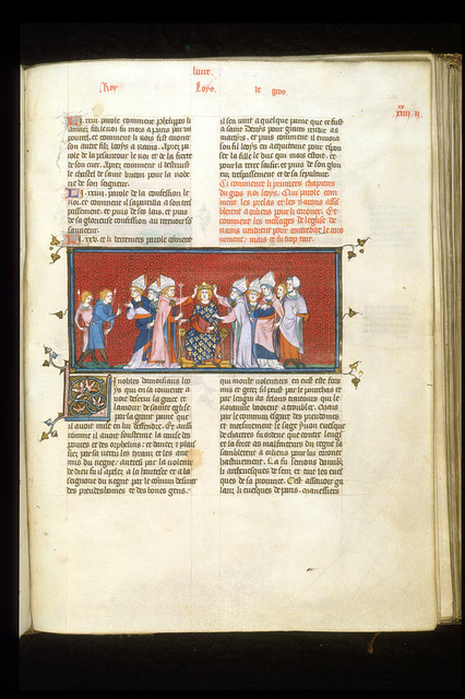 Louis le Gros from BL Royal 16 G VI, f. 284