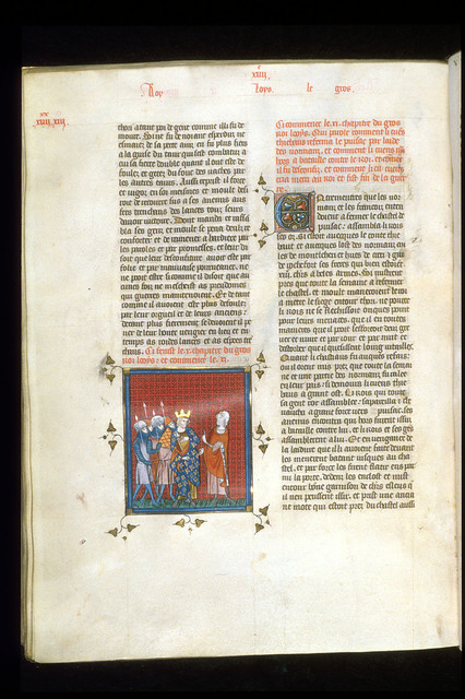 Louis le Gros from BL Royal 16 G VI, f. 295v
