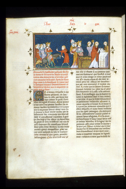 Louis le Gros from BL Royal 16 G VI, f. 300v