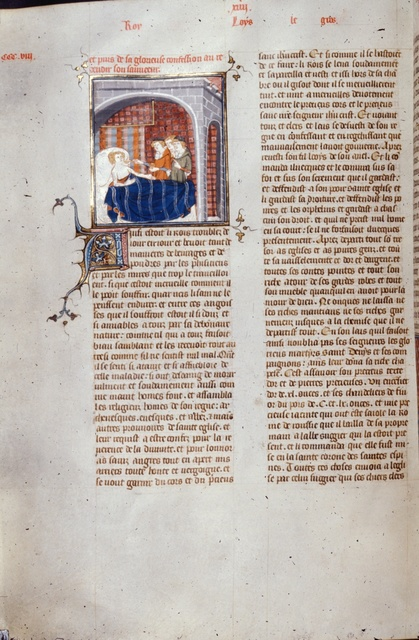 Louis le Gros from BL Royal 16 G VI, f. 310v