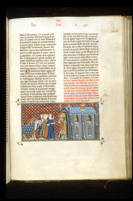 Louis le Gros from BL Royal 16 G VI, f. 311