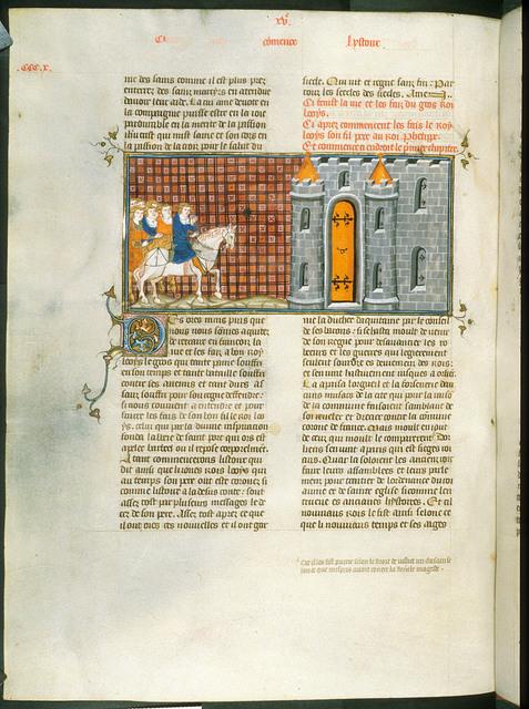 Louis le Jeune from BL Royal 16 G VI, f. 312v