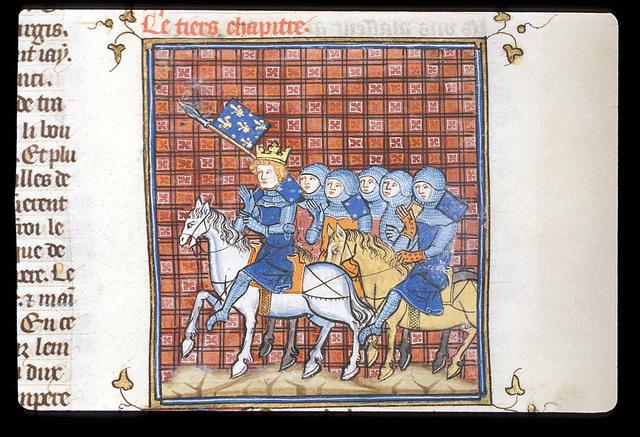 Louis le Jeune from BL Royal 16 G VI, f. 314
