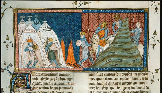 Louis le Jeune from BL Royal 16 G VI, f. 318v