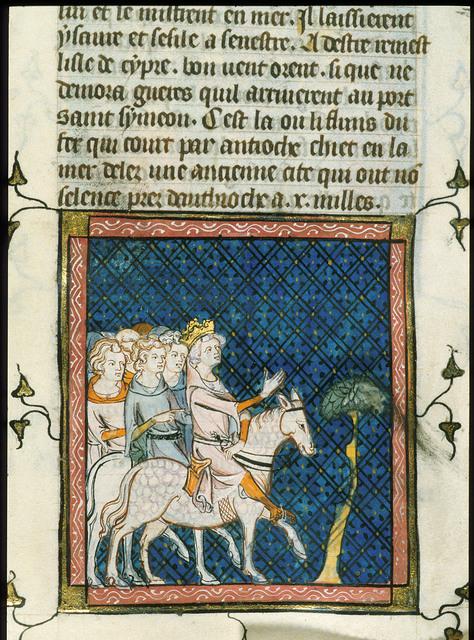 Louis le Jeune from BL Royal 16 G VI, f. 319