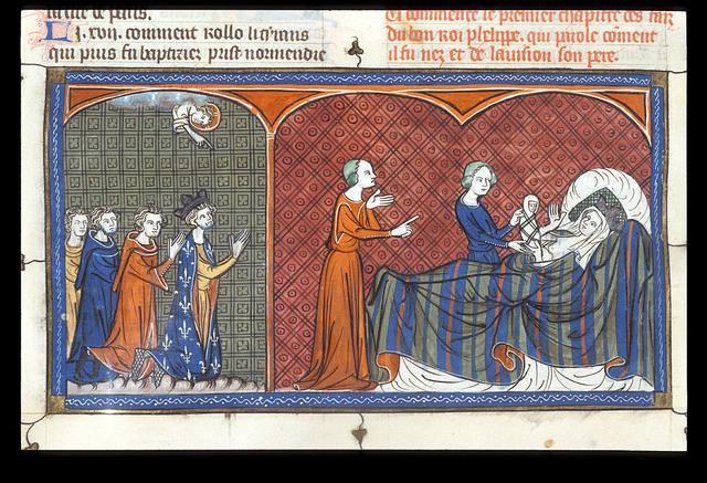 Louis le Jeune from BL Royal 16 G VI, f. 329v