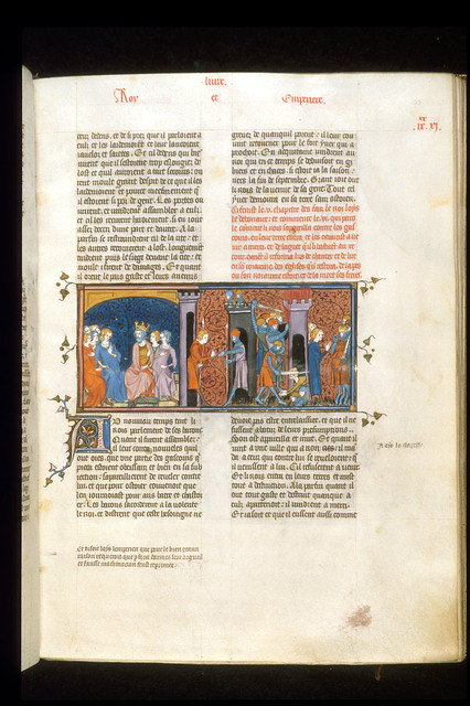 Louis the Pious from BL Royal 16 G VI, f. 193