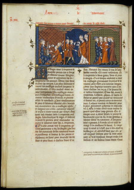 Louis the Pious from BL Royal 16 G VI, f. 195v