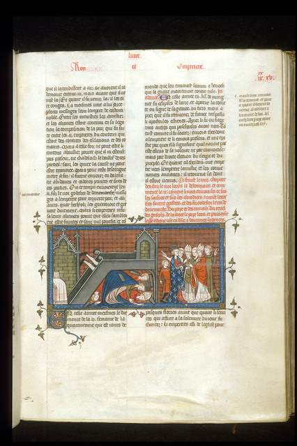 Louis the Pious from BL Royal 16 G VI, f. 197