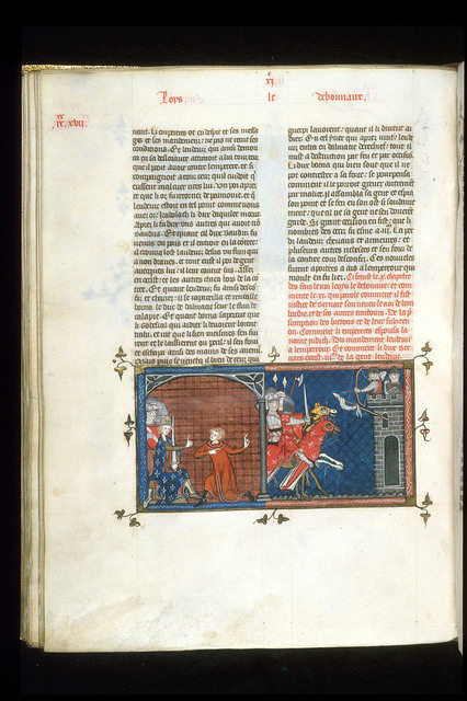 Louis the Pious from BL Royal 16 G VI, f. 199v