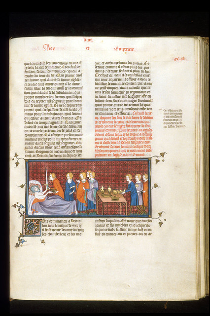 Louis the Pious from BL Royal 16 G VI, f. 217