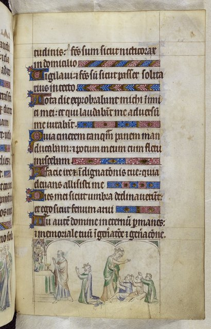 Louis VII from BL Royal 2 B VII, f. 215
