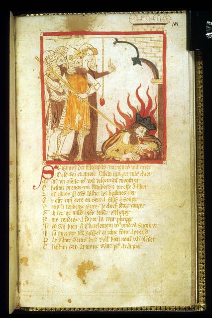 Lucifer from BL Eg 3028, f. 101