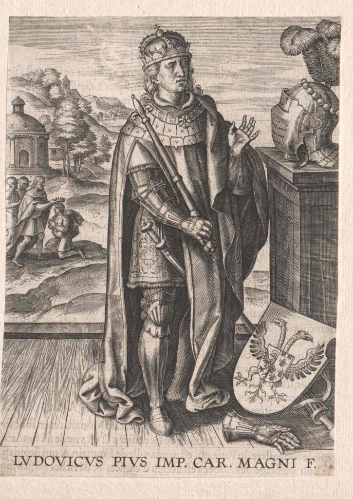 Ludwig I., der Fromme, römischer Kaiser