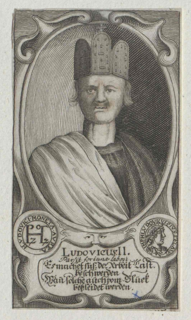 Ludwig II., der Deutsche, ostfränkischer König