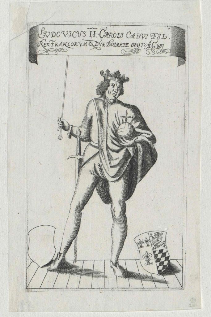Ludwig II., der Stammler König von Frankreich