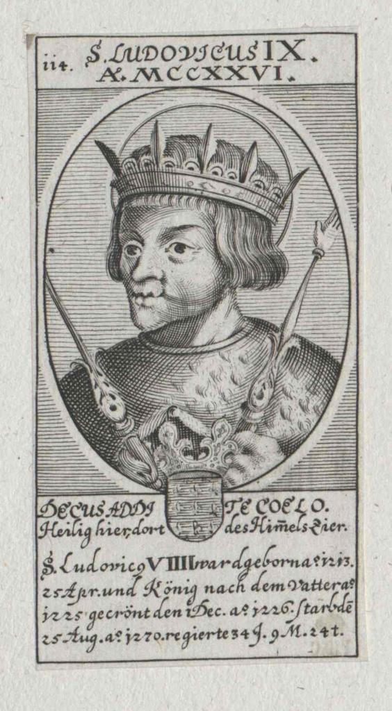Ludwig IX., König von Frankreich, Heiliger