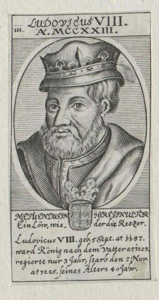 Ludwig VIII., der Löwe König von Frankreich