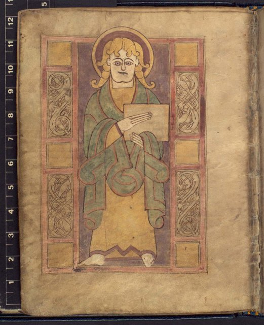 Luke from BL Add 40618, f. 21v