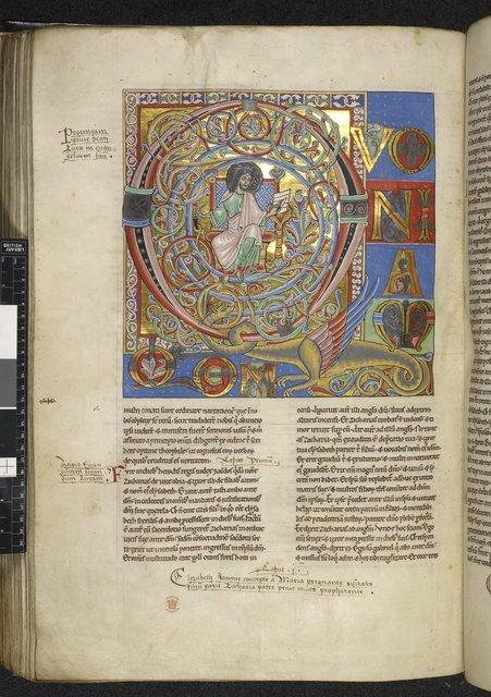 Luke from BL Harley 2799, f. 173v