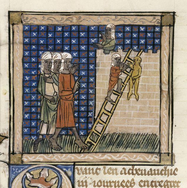 Magicians from BL Royal 19 D I, f. 81v