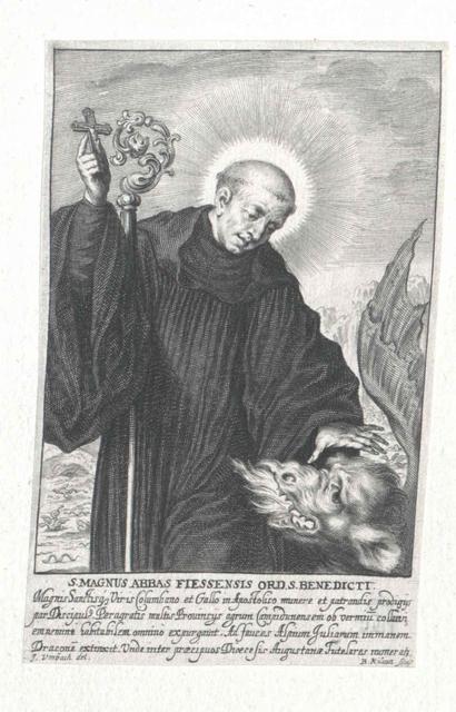 Magnus von Füssen, Heiliger