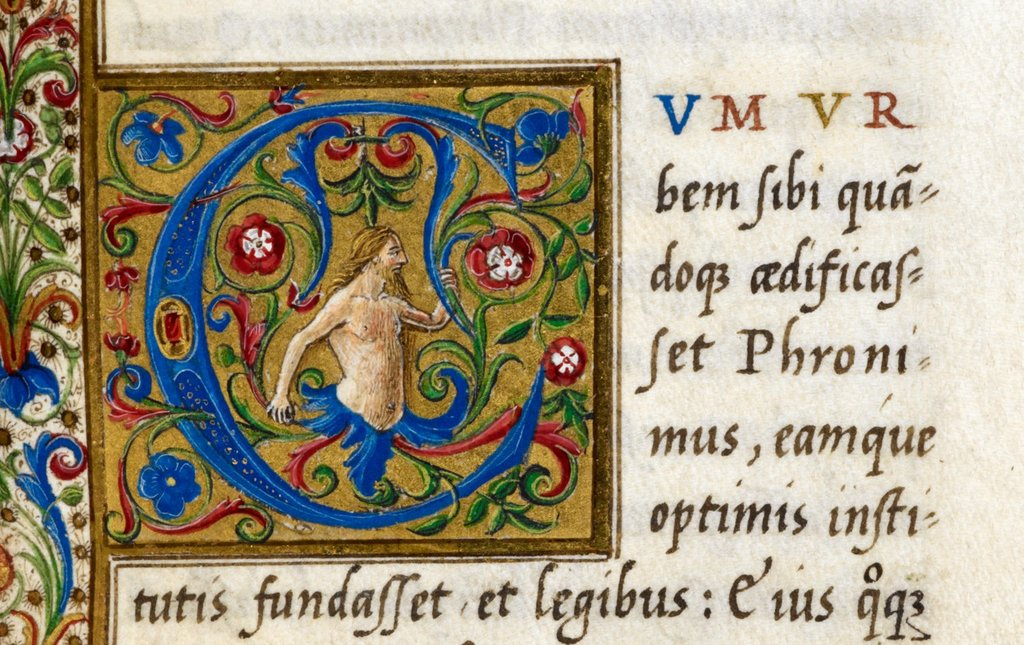 Male figure from BL Royal 12 C VIII, f. 66