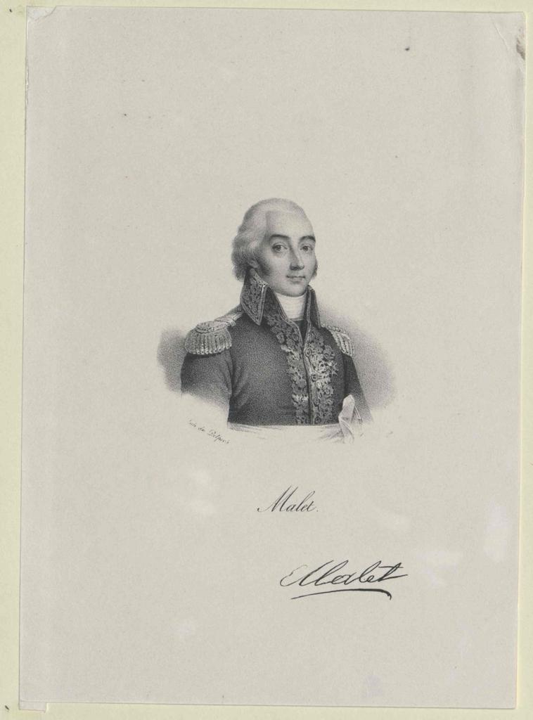 Malet, Claude Francois de