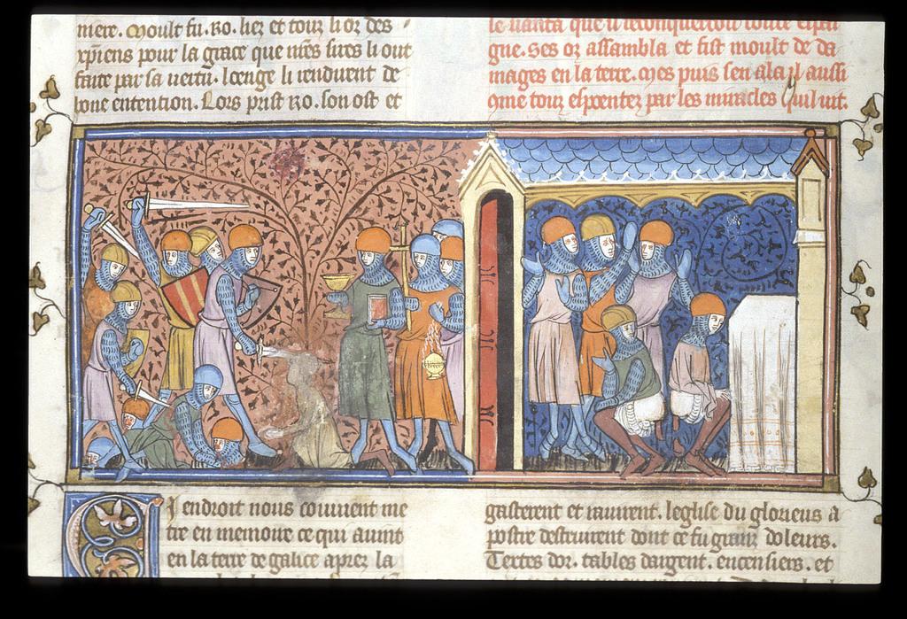 Mansur of Cordova from BL Royal 16 G VI, f. 185v
