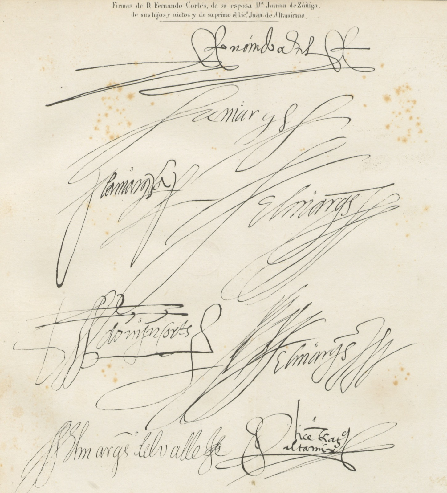 """manuscript from """"Disertaciones sobre la Historia de la República Megicana,  etc"""" - PICRYL Public Domain Image"""