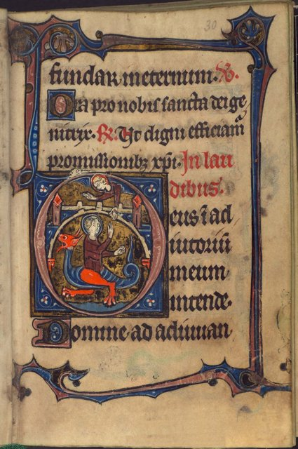 Margaret from BL Harley 928, f. 30