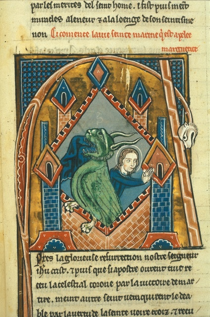 Margaret from BL Royal 20 D VI, f. 220
