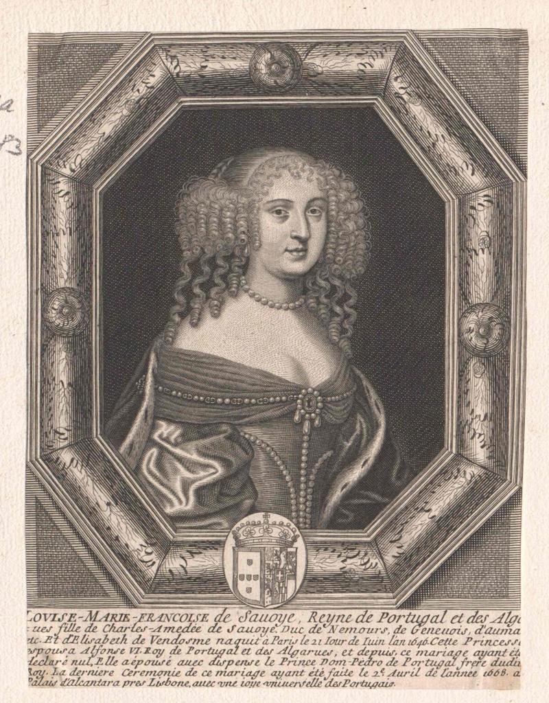 Maria Franziska, Königin von Portugal
