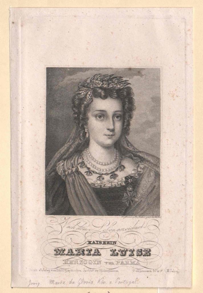 Maria II. da Gloria, Königin von Portugal