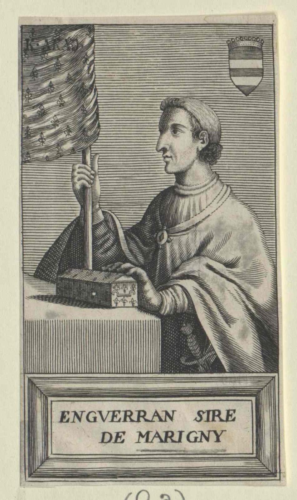 Marigny Comte de Longueville, Enguerrand Le Portier de