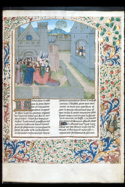 Marriage of Diodicias from BL Royal 15 E IV, f. 16