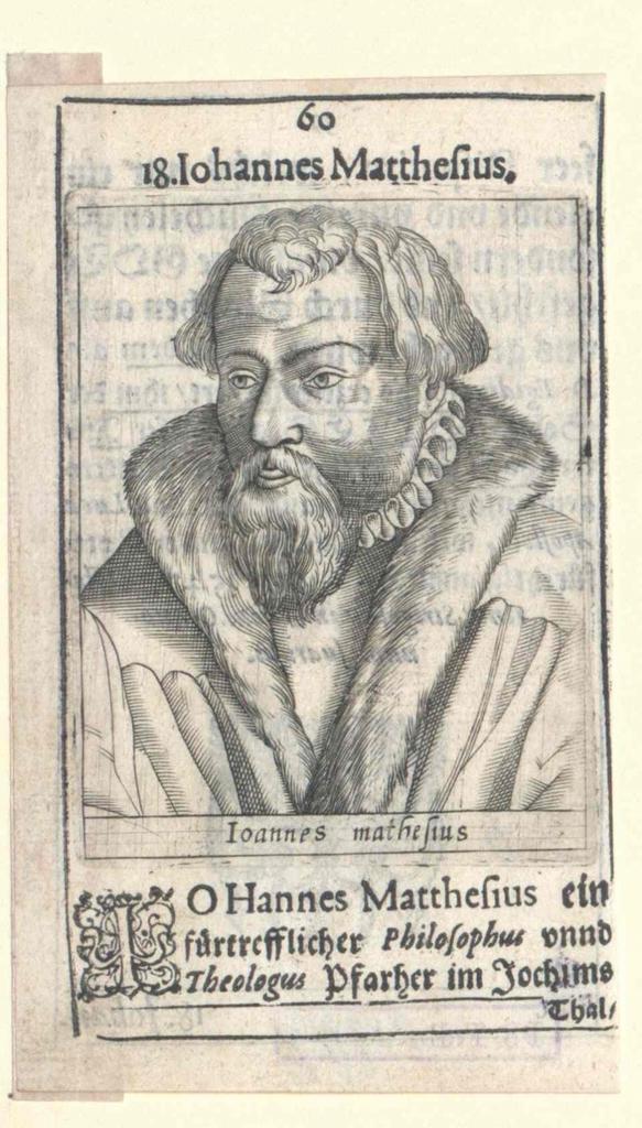 Mathesius, Johann