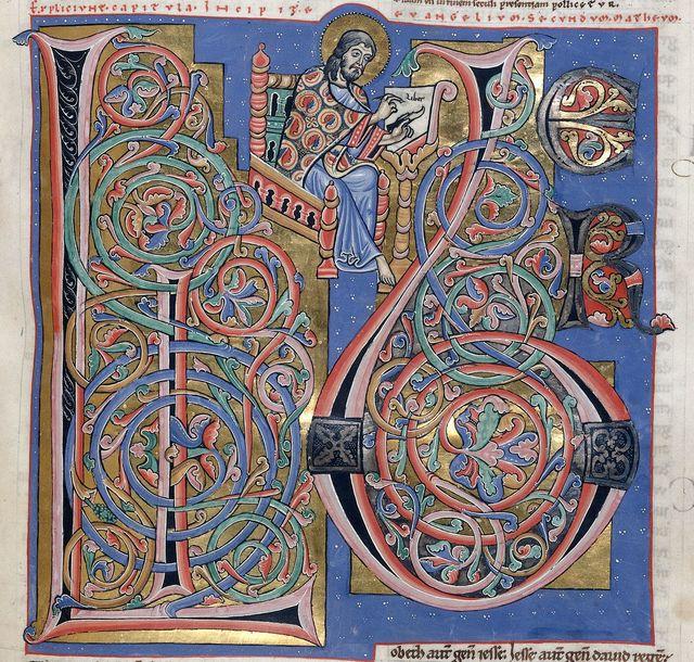 Matthew from BL Harley 2799, f. 155