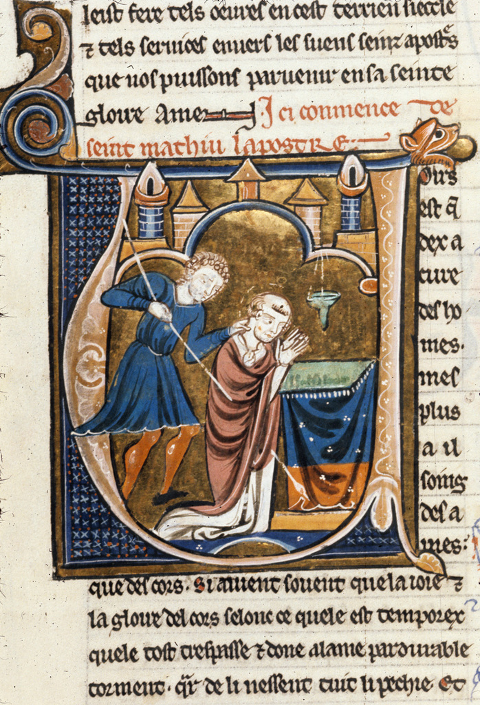 Matthew from BL Royal 20 D VI, f. 30v