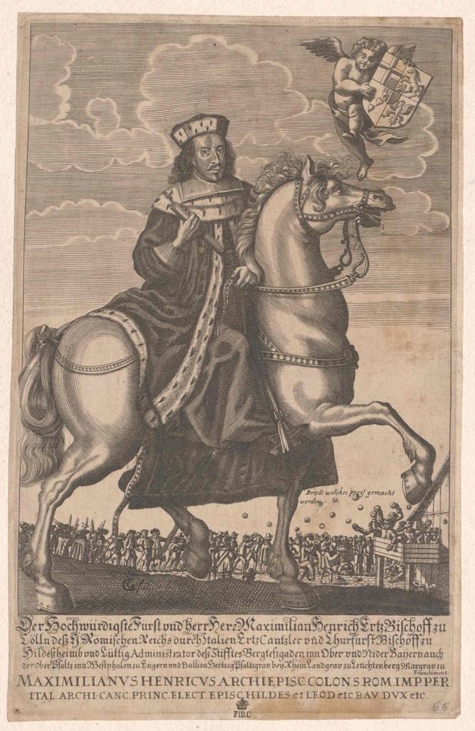 Maximilian Heinrich, Herzog von Bayern, Kurfürst von Köln