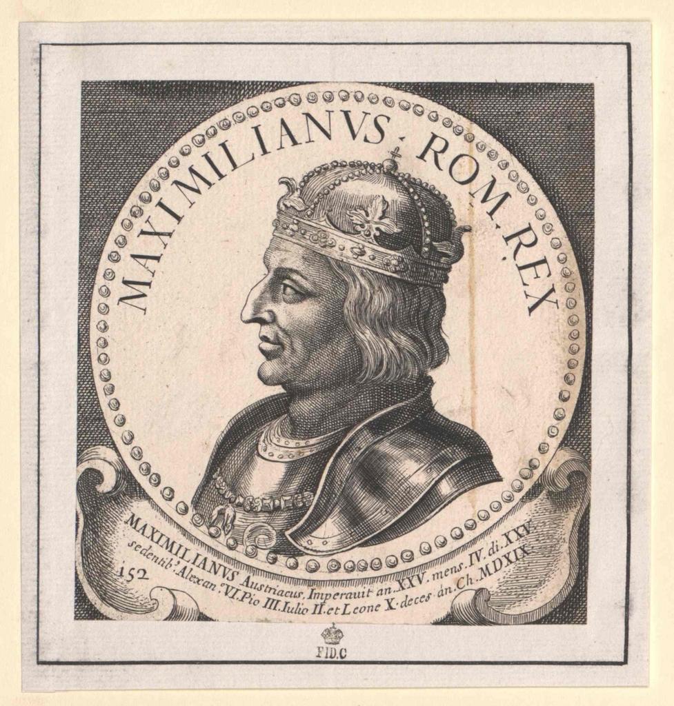Maximilian I., römisch-deutscher Kaiser