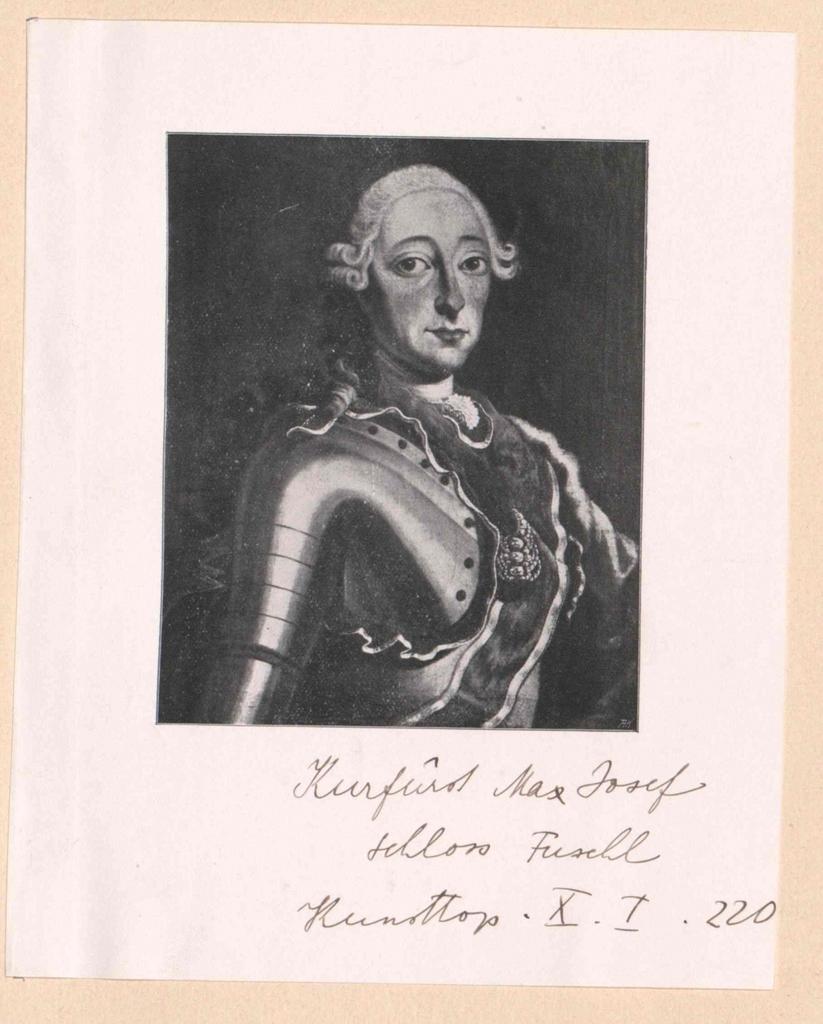 Maximilian III. Josef, Kurfürst von Bayern